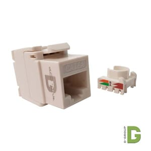 dGlink Kat 6A 10Gb keystone RJ 45 UTP Toolless