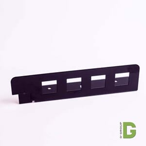 Adapterplate 4 port LC Duplex