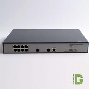 8-Port 10/100/1000 PoE+ 65 W Switch
