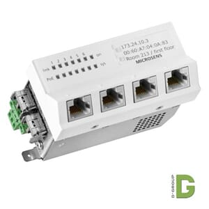 FTTO Switch 2xSFP (Fiber to the Office)
