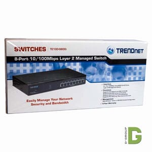 8-Port 10/100Mbps Layer 2 Managed Switch