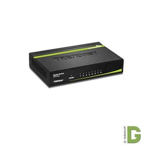 8-port kobber Gigabit Mini Switch