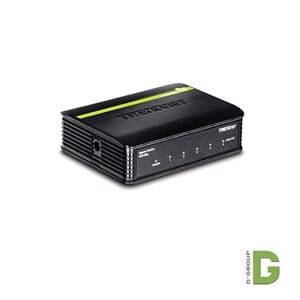5-Port kobber Gigabit Switch