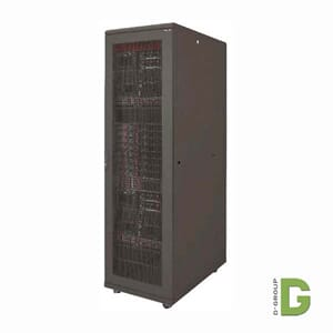 "Canovate 19"" SERVER Gulvskap 42U 800x1200 Sort"