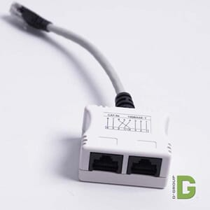 Kategori 5e splitter Data - Data, for RJ45